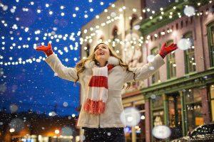 Zaragoza reduce el consumo de las luces para Navidad y Nochevieja