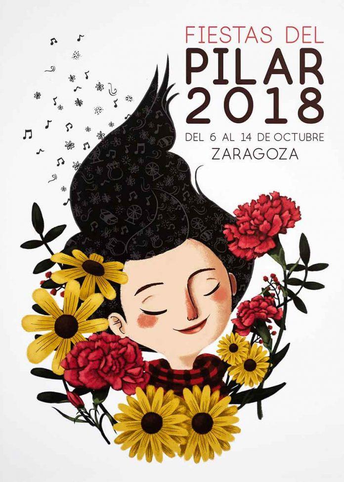 Fiestas del Pilar 2018 en Zaragoza - cartel (1)